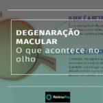 Infográfico · Degeneração macular